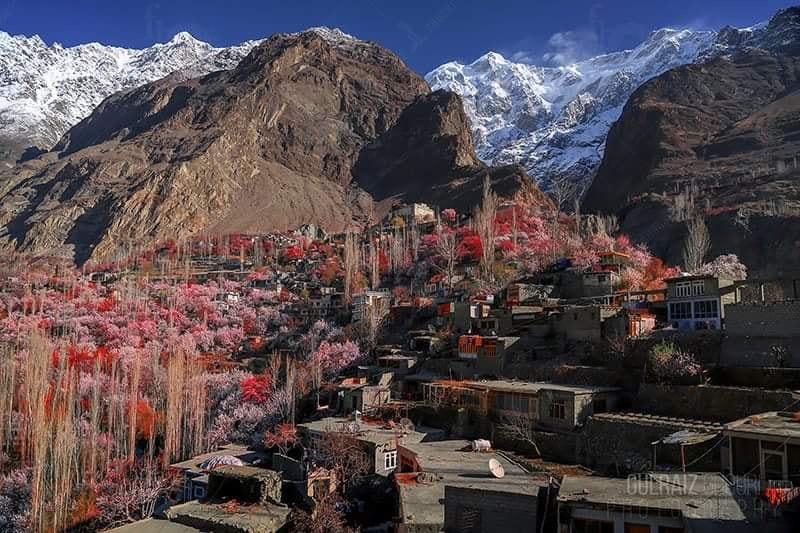 Spring season of Hunza Valley